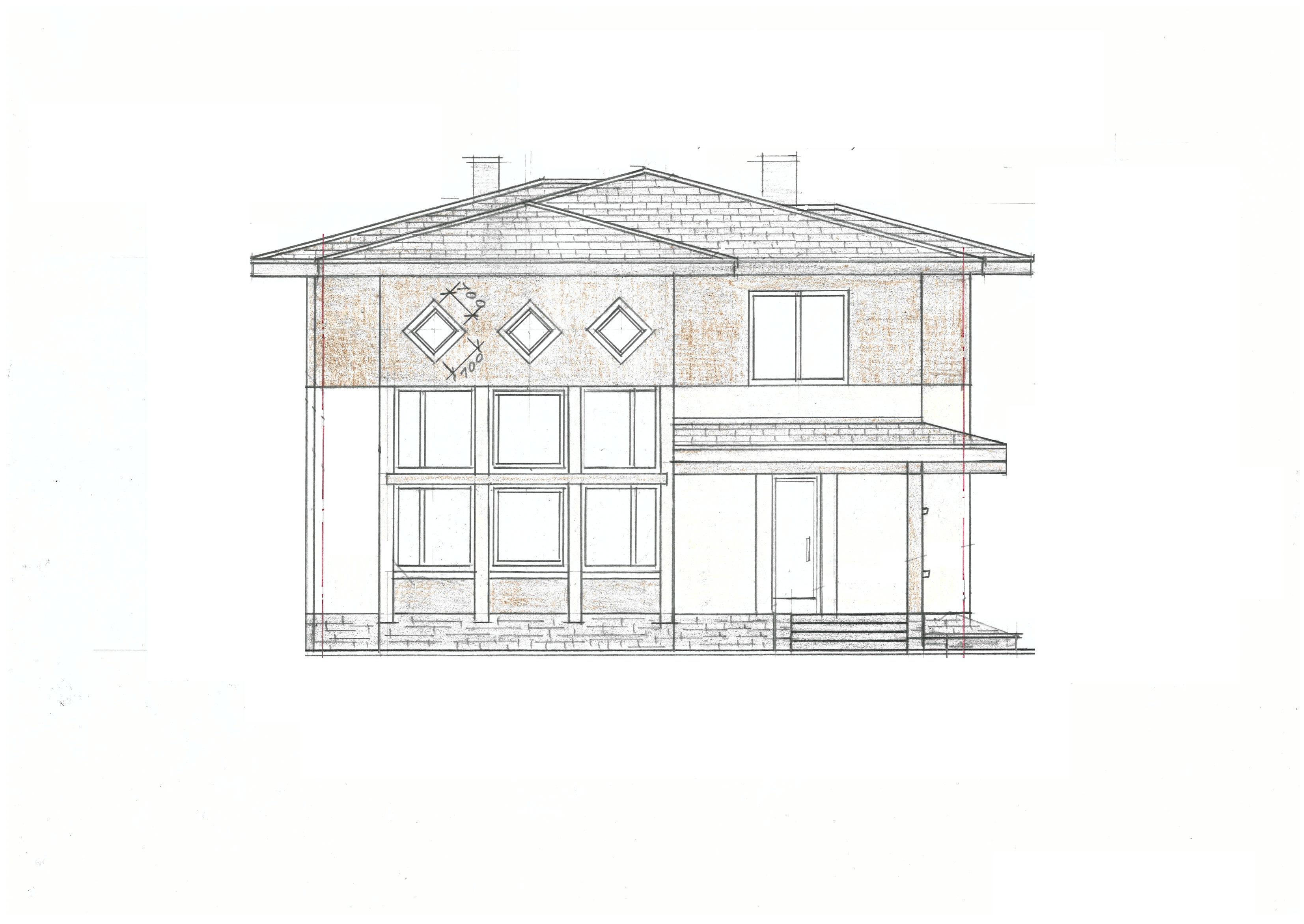 Индивидуальный проект фасад