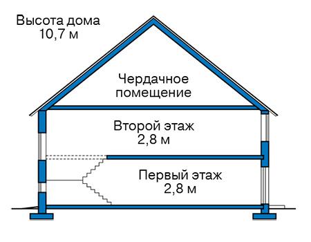 Проект бетонного дома 58-97 план