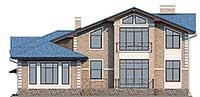 Проект бетонного дома 58-99 фасад