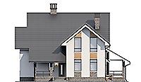 Проект бетонного дома 59-41 фасад