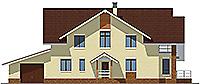 Проект бетонного дома 59-46 фасад