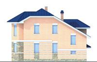 Проект кирпичного дома 70-63 фасад