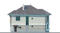 Проект кирпичного дома 70-69 фасад