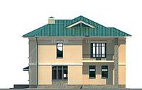 Проект кирпичного дома 70-83 фасад
