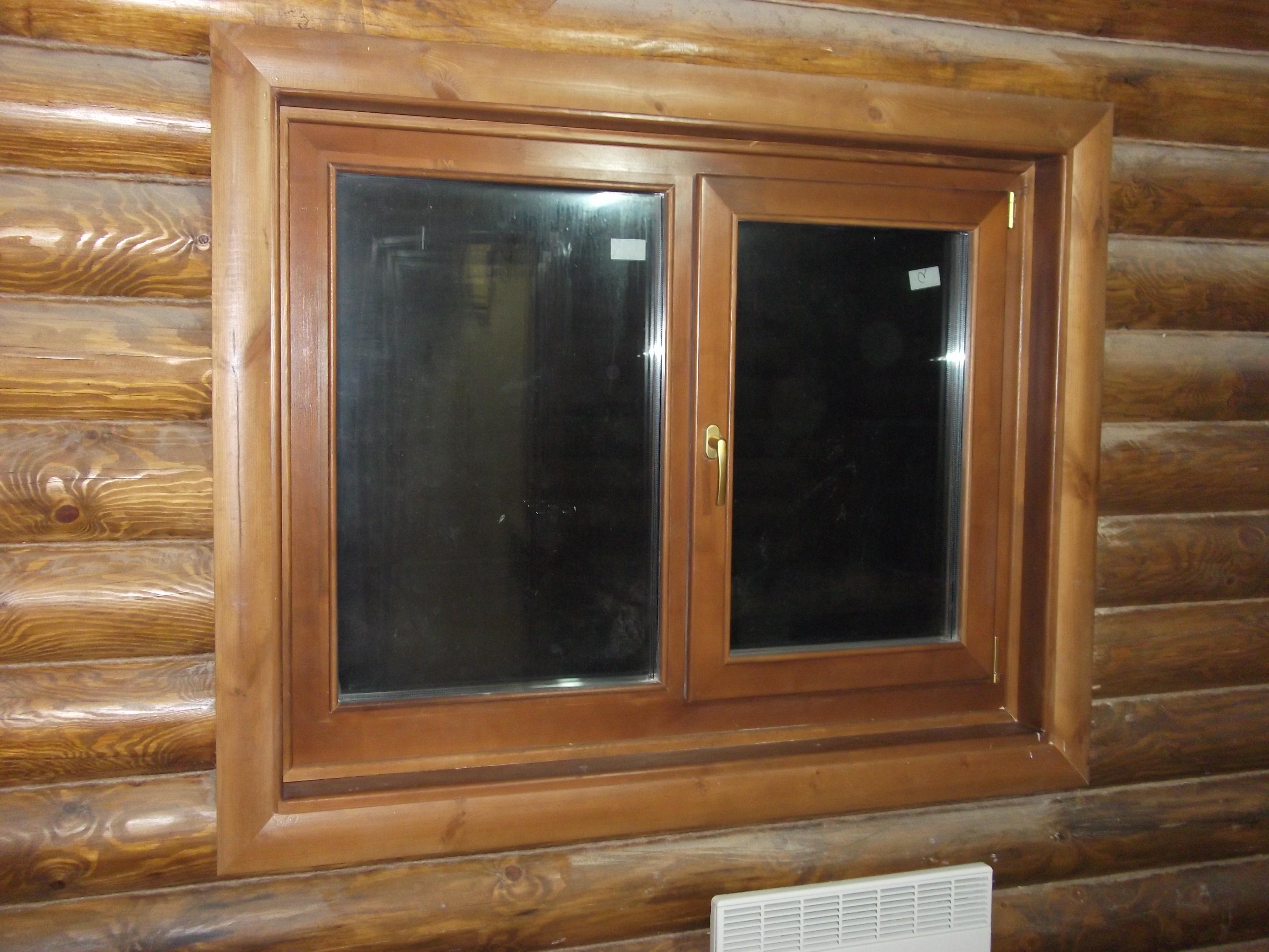 Как правильно установить окна в деревянный дом