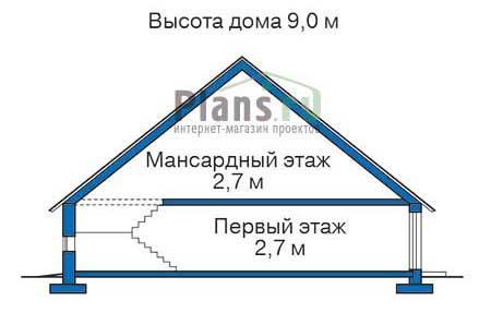 Проект кирпичного дома 71-01 план