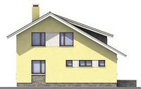 Проект кирпичного дома 71-02 фасад