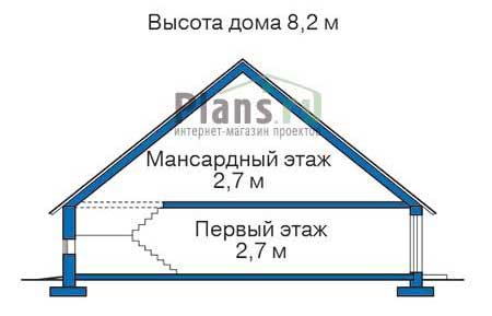Проект кирпичного дома 71-02 план