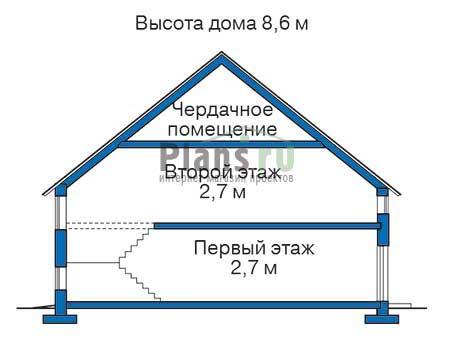 Проект кирпичного дома 71-03 план
