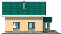 Проект кирпичного дома 71-14 фасад
