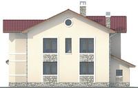 Проект кирпичного дома 71-16 фасад