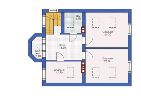Проект кирпичного дома 71-18 план