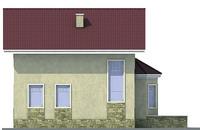 Проект кирпичного дома 71-27 фасад