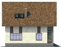 Проект кирпичного дома 71-29 фасад