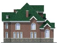 Проект кирпичного дома 71-34 фасад