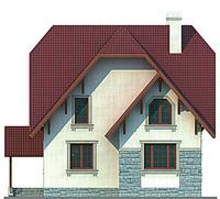 Проект кирпичного дома 71-36 фасад