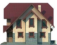 Проект кирпичного дома 71-39 фасад