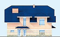 Проект кирпичного дома 71-63 фасад