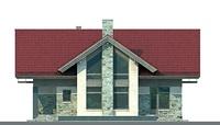 Проект кирпичного дома 71-85 фасад