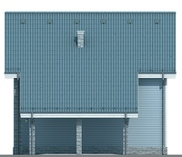 Проект кирпичного дома 71-89 фасад