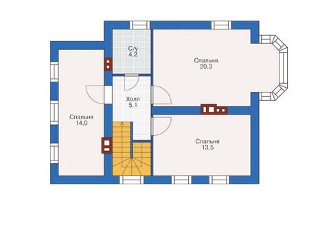 Проект кирпичного дома 71-91 план
