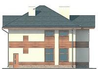 Проект кирпичного дома 71-94 фасад