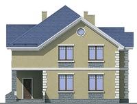 Проект кирпичного дома 71-95 фасад