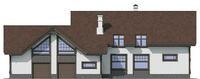 Проект кирпичного дома 72-11 фасад