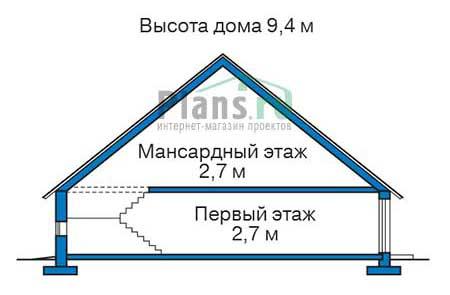 Проект кирпичного дома 72-62 план