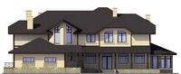 Проект кирпичного дома 72-73 фасад