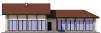 Проект кирпичного дома 72-85 фасад