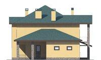 Проект кирпичного дома 72-92 фасад