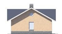 Проект кирпичного дома 73-30 фасад