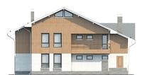 Проект кирпичного дома 73-33 фасад
