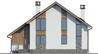 Проект кирпичного дома 74-11 фасад