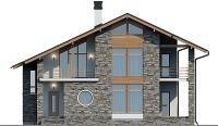 Проект кирпичного дома 74-31 фасад