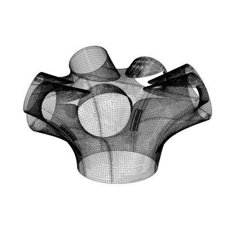3D-печатный архитектурный элемент, соответствующий стандартам СНИП