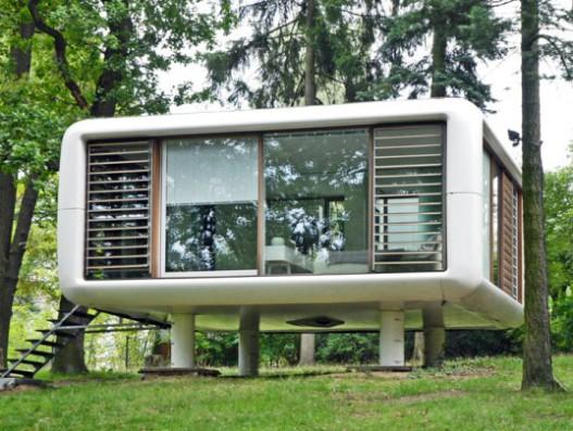 Сборный дом без фундамента LoftCube