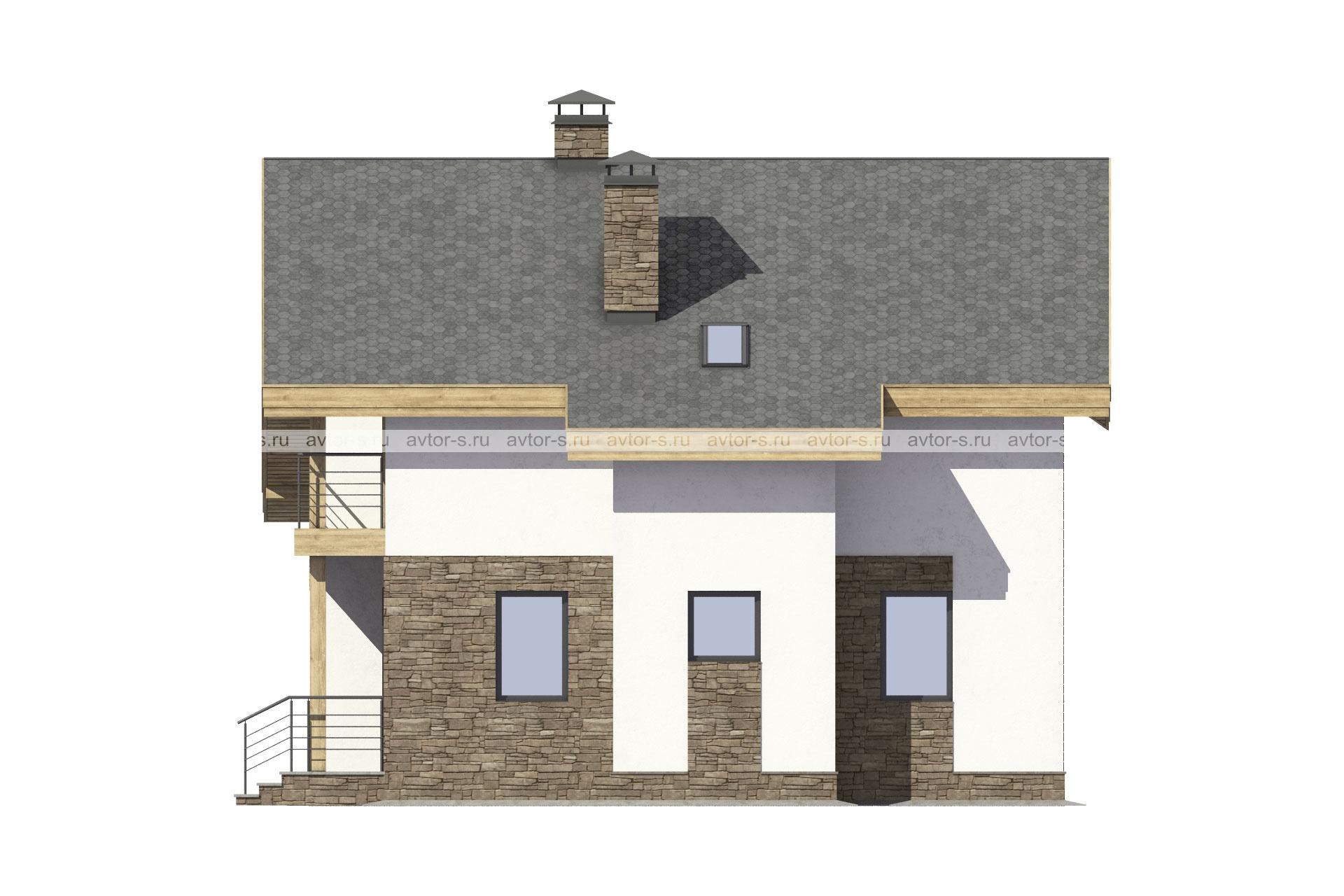 Проект AV303 фасад