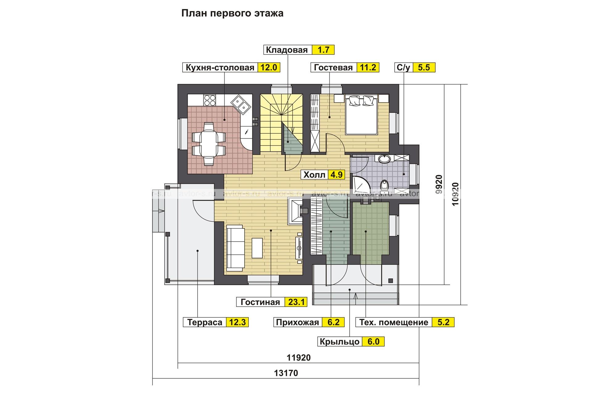 AV 303 план
