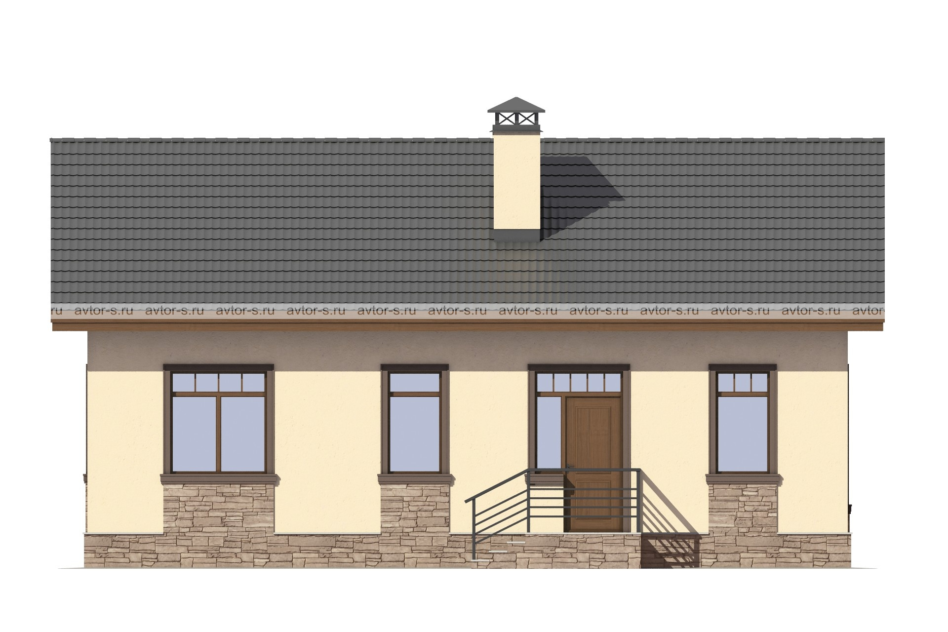 Проект AV307 фасад