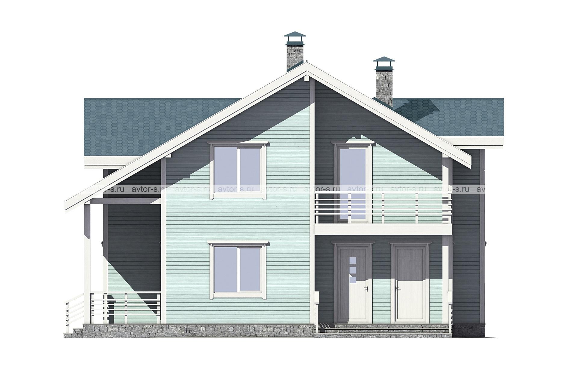 Проект AV200 фасад