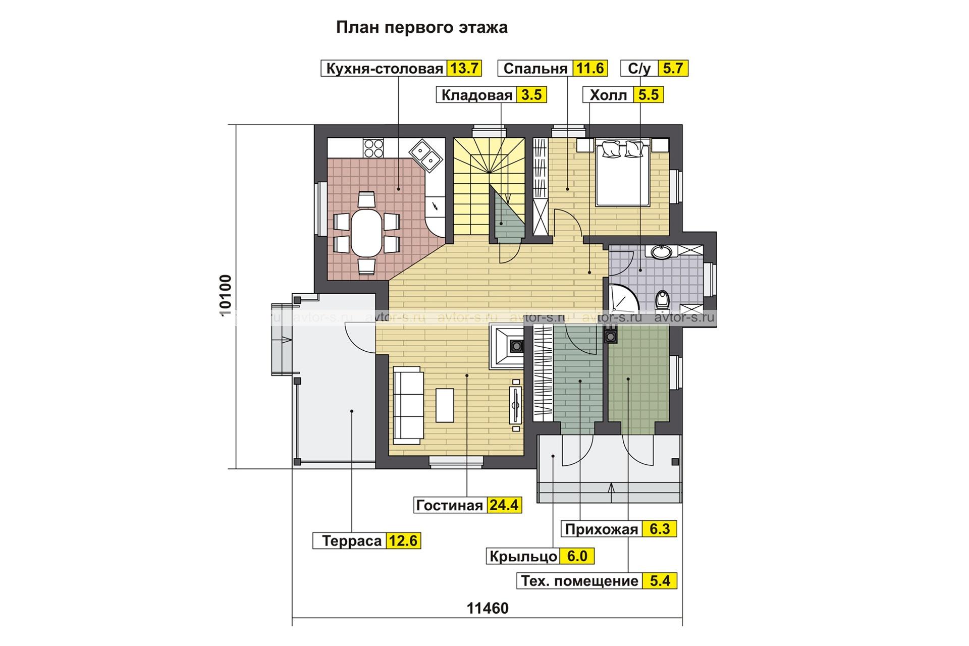 Проект AV200 план