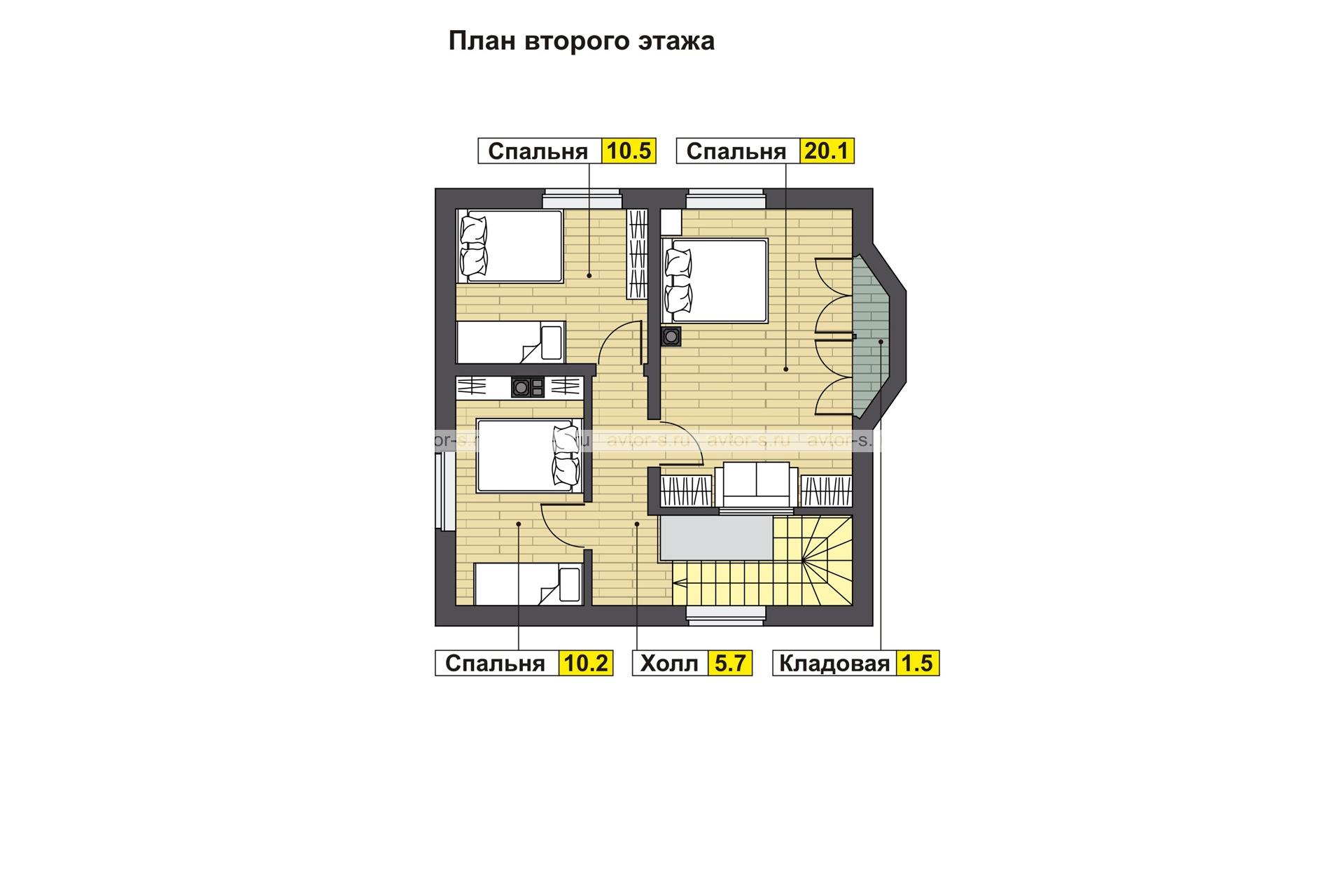 AV 201 план