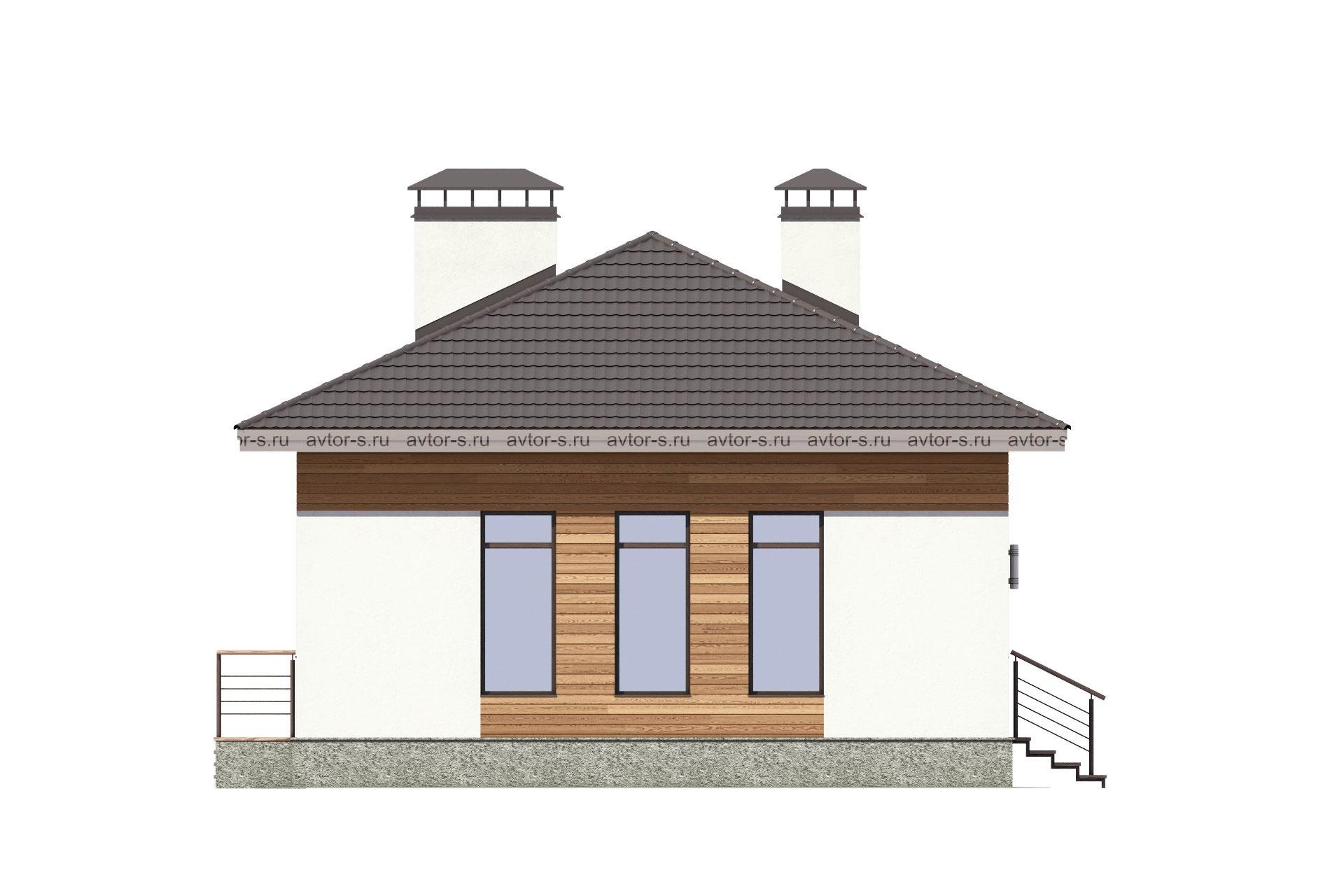 Проект AV308 фасад
