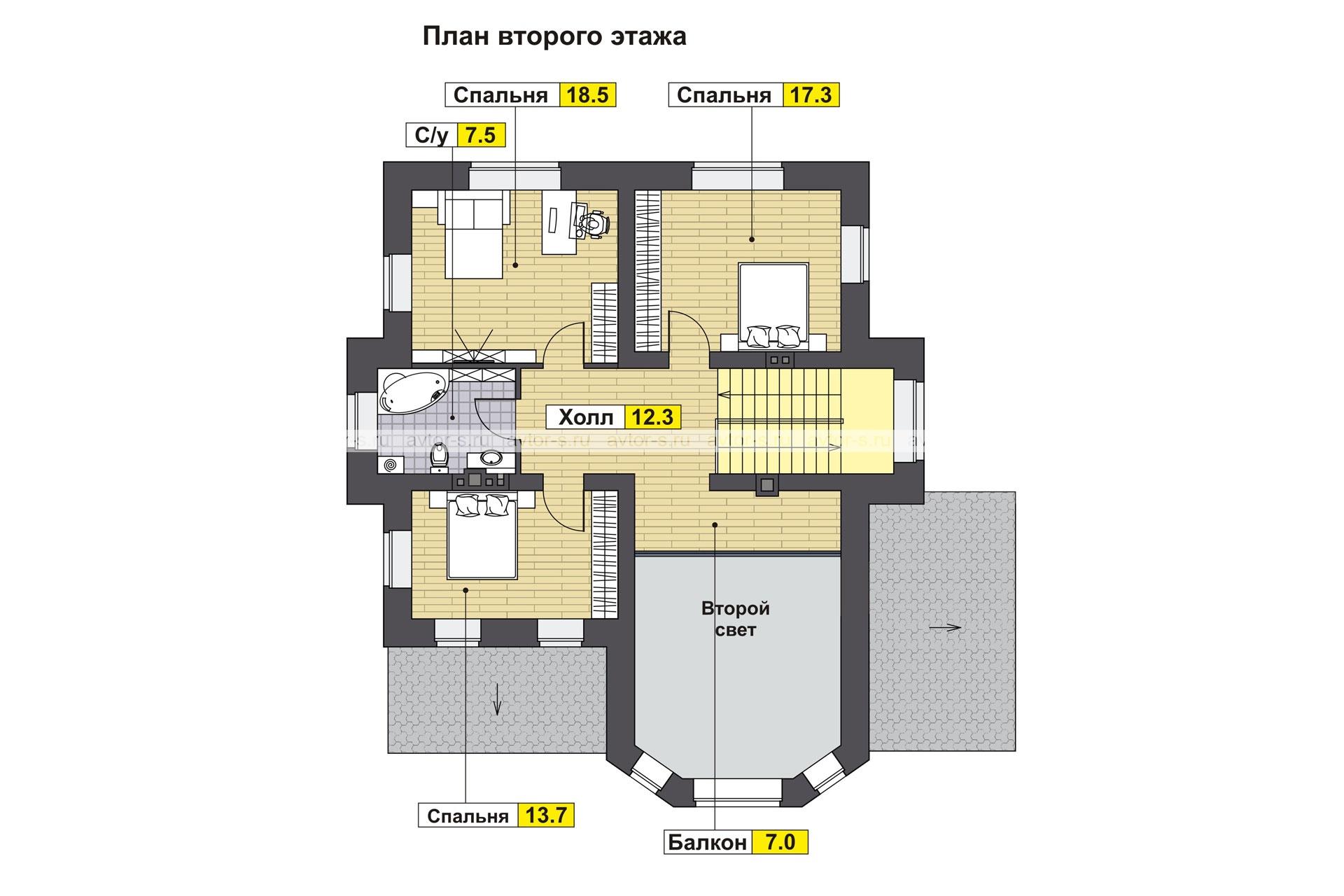 AV 305 план