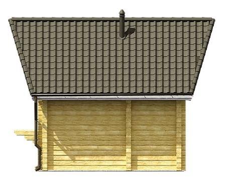 Уник.№: K-173 Баня Дубок фасад