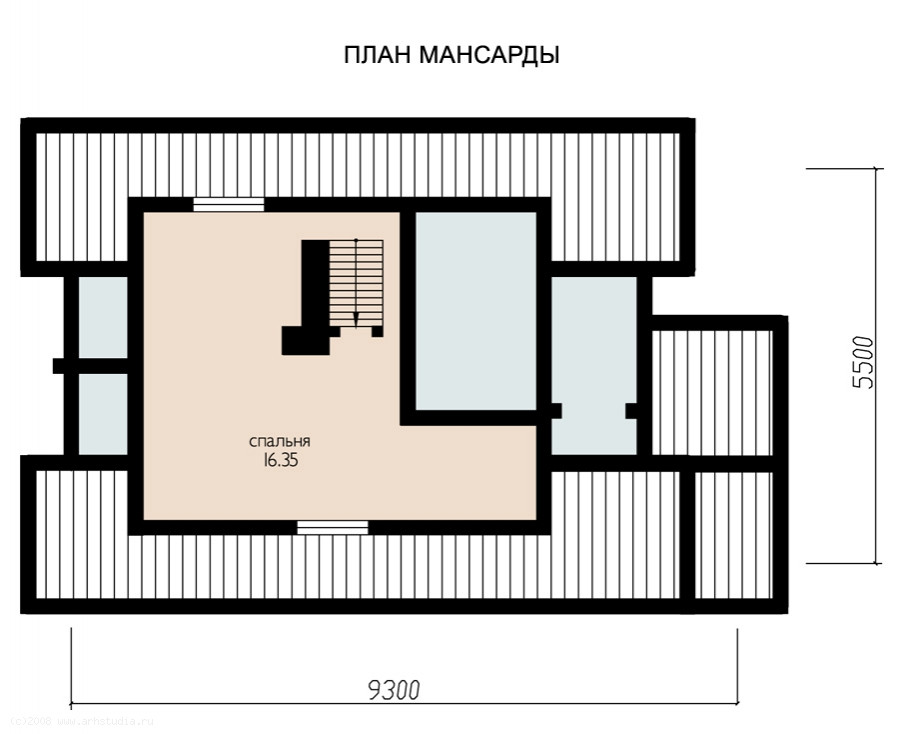 Уник.№: K-186 Баня Отдых план