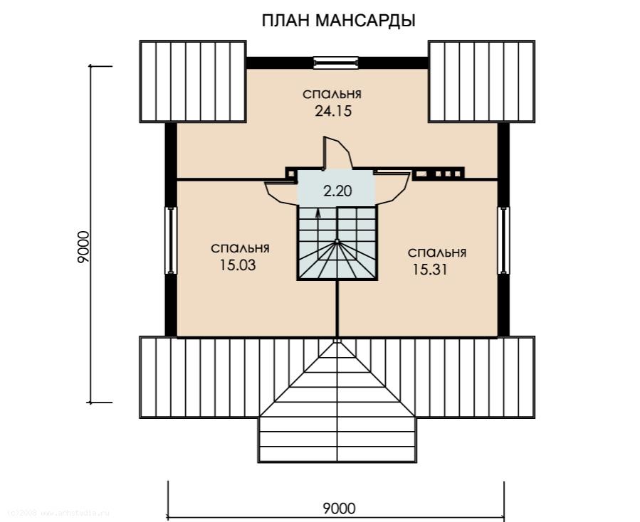 Уник.№: K-110 Ладный план
