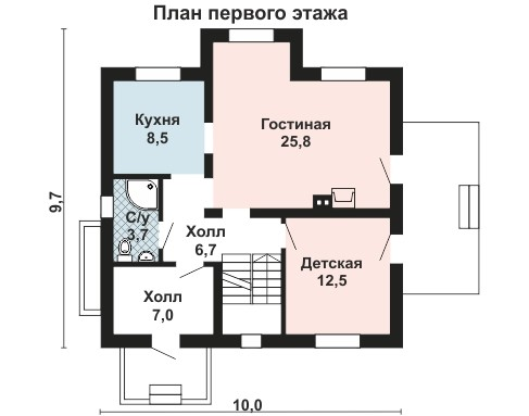 AS-980 план